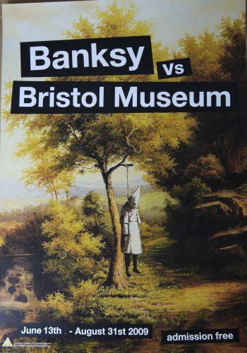 Klansman Bristol Poster by Banksy