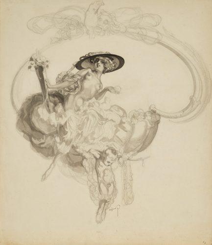 Venus triumphans by Franz von Bayros