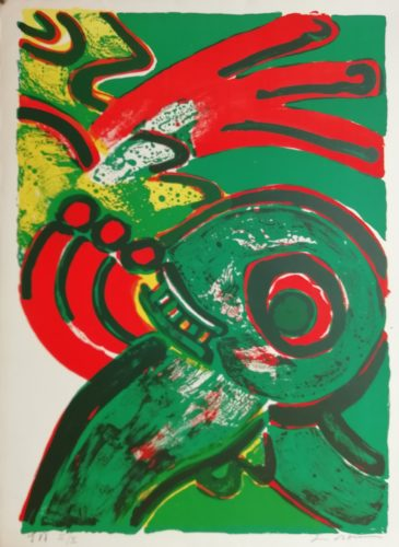 Untitled by Bengt Lindstrom at