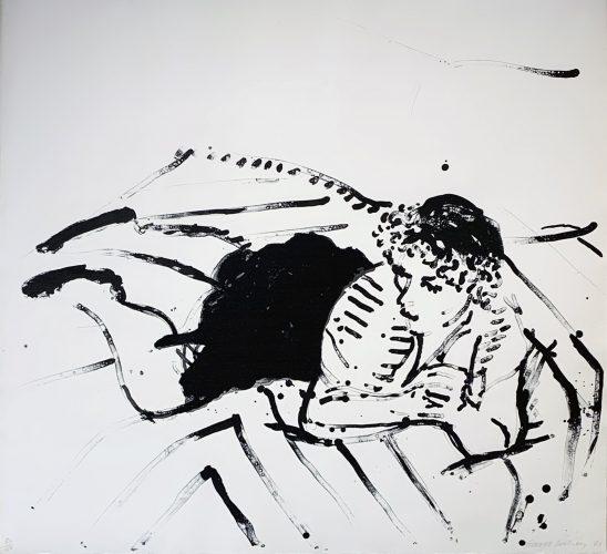 Big Celia #2 by David Hockney at David Hockney