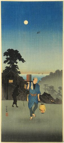 Edo-view Hill by Takahashi Hiroaki (Shotei)