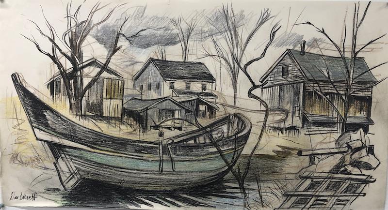 Chebacco Boat 2 by Don Gorvett