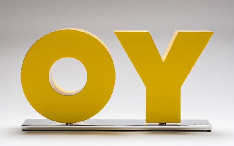 Oy / Yo by Deborah Kass