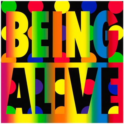 Being Alive by Deborah Kass