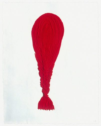 Crochet V by Louise Bourgeois at