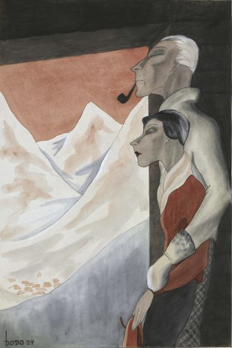 Honeymoon by Dodo Dorte Clara Wolff