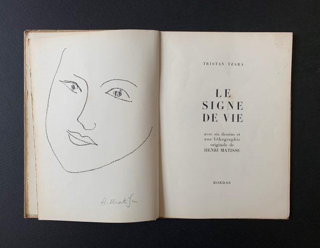 Le Signe de Vie by Henri Matisse
