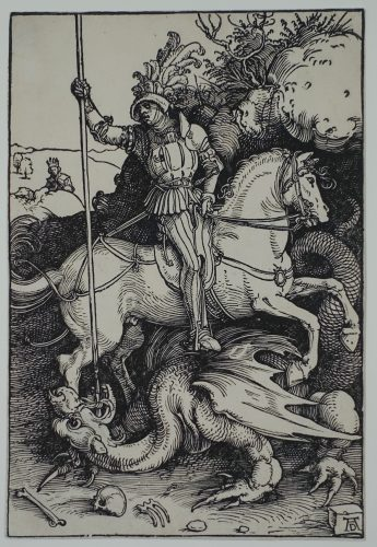 St. George slaying the Dragon by Albrecht Durer