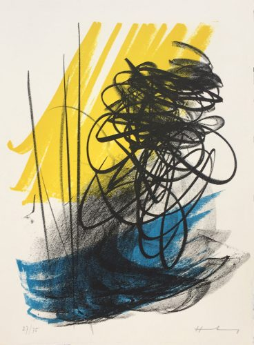 San Lazzaro et Ses Amis by Hans Hartung at