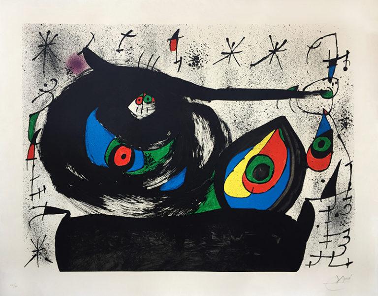 Homenaje a Joan Prats by Joan Miro