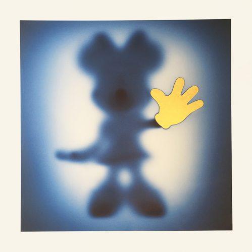 Gone Minnie Blue – Gold by Whatshisname at Grabados y Litografias.com
