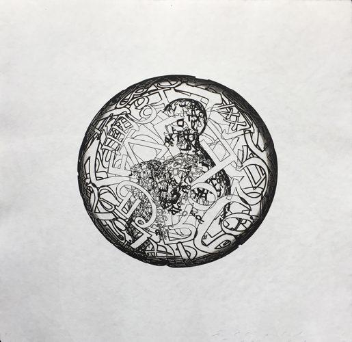 Alchimistes II by Jaume Plensa at