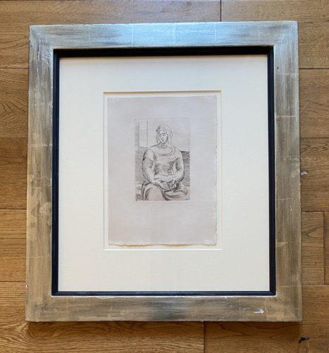 L' Italienne by Pablo Picasso at Fairhead Fine Art