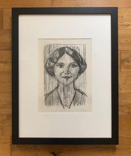 Cally Monrad by Edvard Munch
