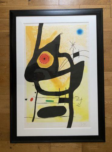La Femme des Sables by Joan Miro