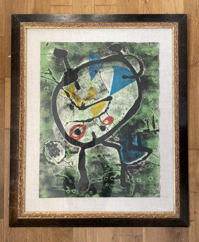 Grans Rupestres II by Joan Miro at Joan Miro