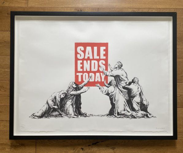Sale Ends Today by Banksy
