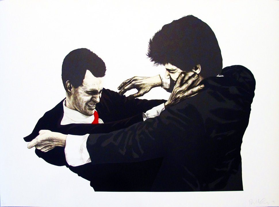 Frank and Glenn by Robert Longo