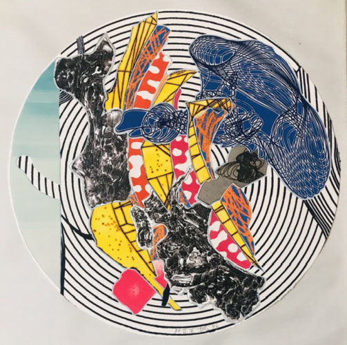 Egyplosis by Frank Stella at Frank Stella