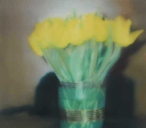 Tulips (P17) by Gerhard Richter