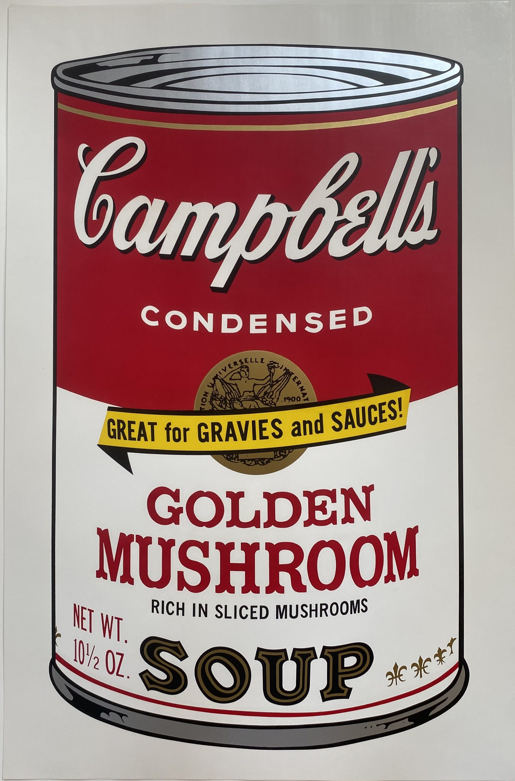 Campbell's Soup II, 1969 Golden Mushroom F&S II.62 by Andy Warhol