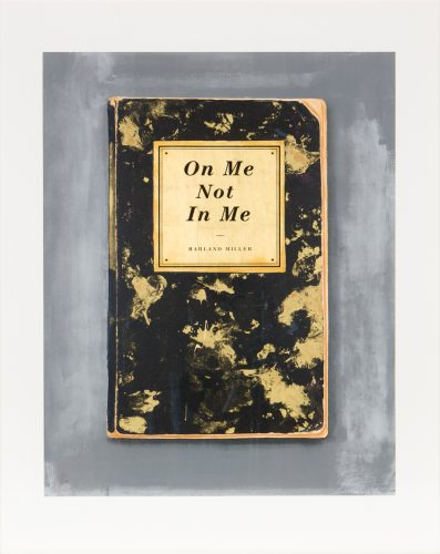 On Me Not In Me by Harland Miller at