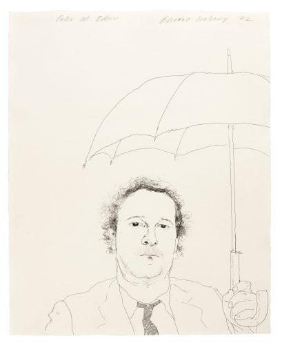 The Restaurateur by David Hockney
