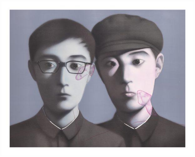 Birthmark by Zhang Xiaogang