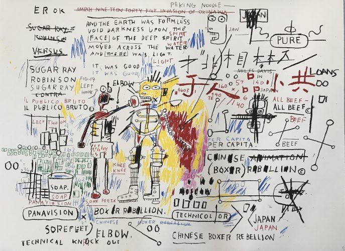 Boxer Rebellion by Jean-Michel Basquiat