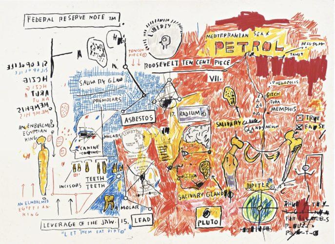 Liberty by Jean-Michel Basquiat