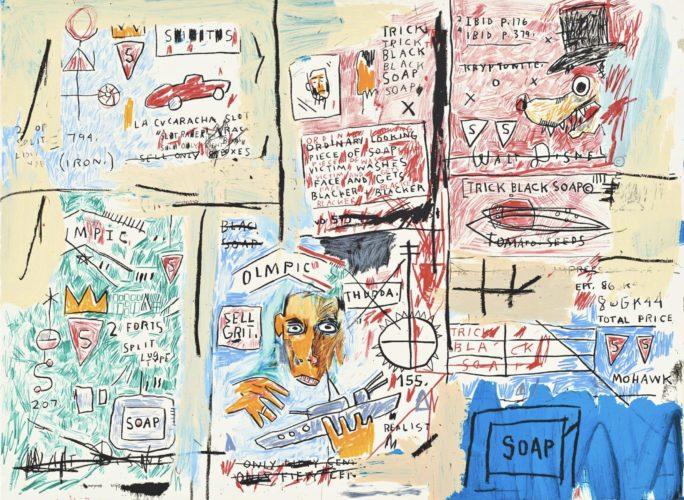 Olympic by Jean-Michel Basquiat