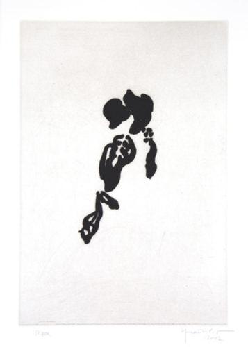 Iris negre II by Joan Hernandez Pijuan at