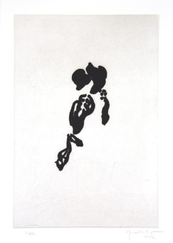 Iris negre II by Joan Hernandez Pijuan