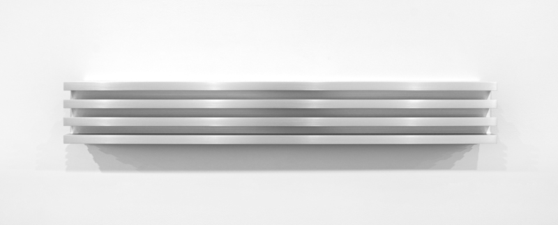 Untitled (Clear) by Donald Judd