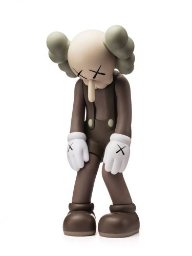Small Lie Brown 2017 by KAWS