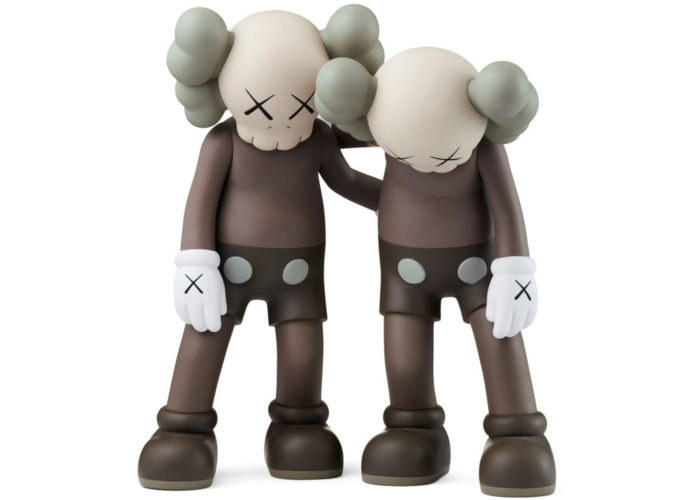 Along the Way (Brown) by KAWS at