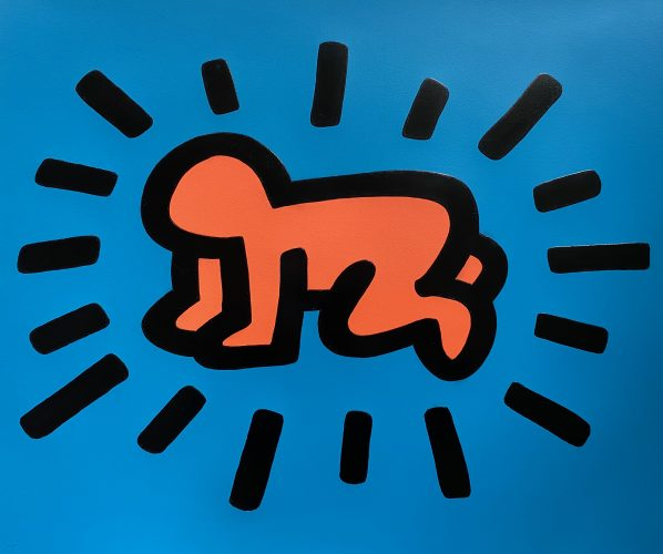 Radiant Baby from Icons Portfolio 1990 by Keith Haring at Keith Haring