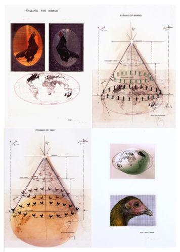 Piramids by Koen Vanmechelen