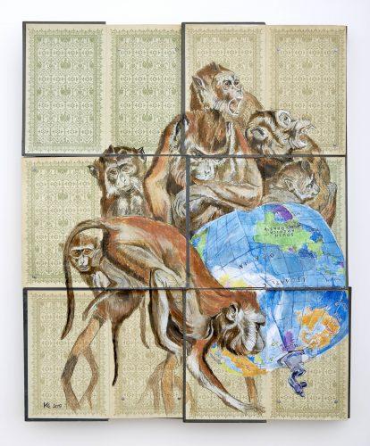 Monkeys by Kristin Kolb