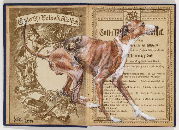 Greyhound by Kristin Kolb
