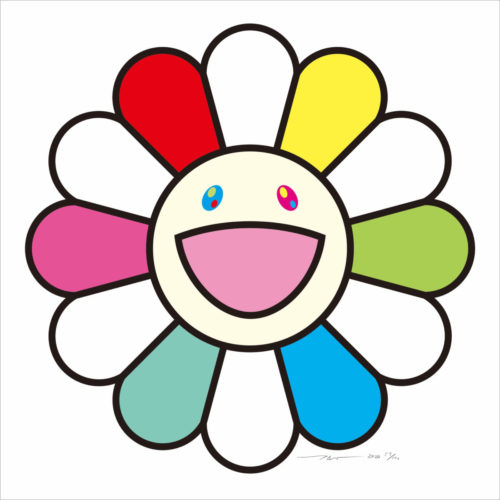 Smile every day with Flowers by Takashi Murakami