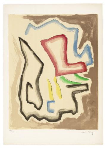De l'Origine des especes par voie de selection irrationnelle (X) by Man Ray
