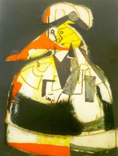 Las Meninas #3 by Manolo Valdes at