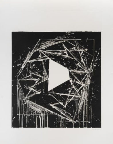 White Island by Mel Bochner at