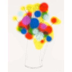 Flowers And A Few Colours by Nicolas Party at