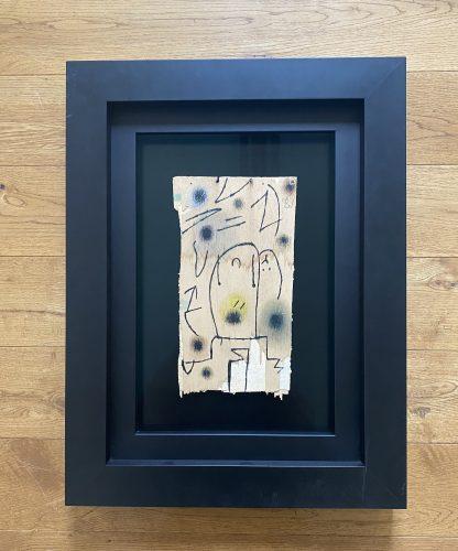 Personages, Oiseau by Joan Miro at Joan Miro