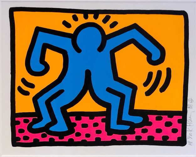 Pop Shop II A by Keith Haring
