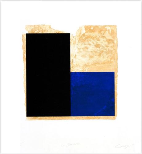 La Bienvenida (azul) by Rafael Canogar at InvesArt Gallery