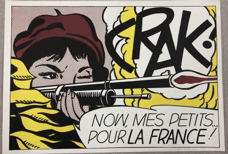 Crak! 1963 by Roy Lichtenstein