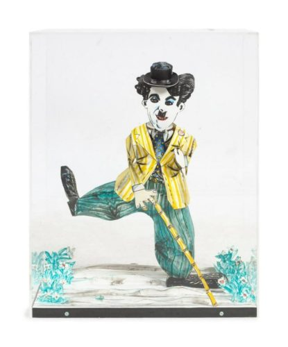 Charlie Chaplin by Red Grooms at